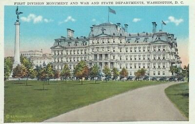 Washington D.C., First Division Monument and War and State Departments ngl E7042