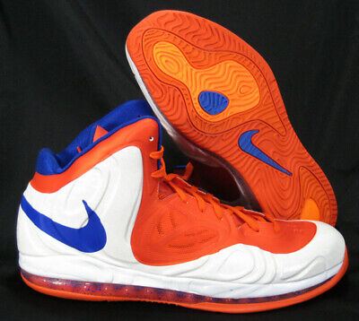 ae36dab468a Nike Air Max Hyperposite Qs Amare Stoudemire Pe Sz 16 Knicks Orange Blue  Sample