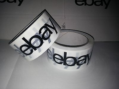 Ebay Package Adhesive Tape Pack Band Quiet White 66 meter x 55mm Wide