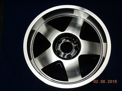 TWO NEW 17 x 9.5 GM CAR ALUMINUM WHEEL #151795 BRAND UNKNOWN 5 on 4-3/4 BOLT
