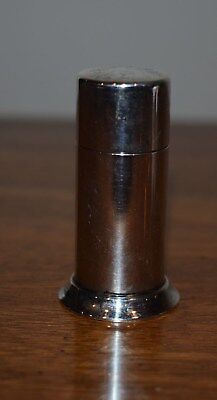 Antique Sterling Silver Tiffany & Co.  Makers Vanity Powder Shaker