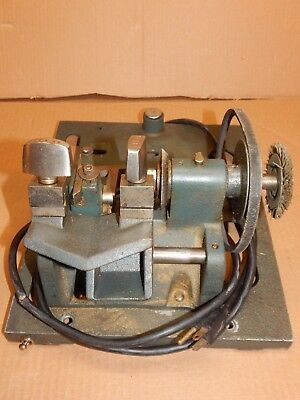 Vintage Collector!  ILCO, INDEPENDENT LOCK CO., Key  Machine For parts only