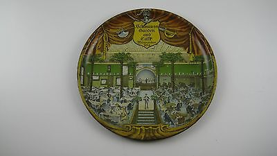 RARE Vtg. Antique Beer Resturant Tip Tray Schmauss Garden and Cafe Milwaukee WI