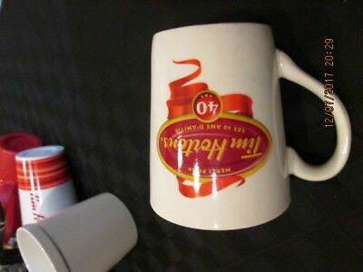 Tim Horton's Coffee Mug Cup 40 Years 1964-2004 Limited Edition #004