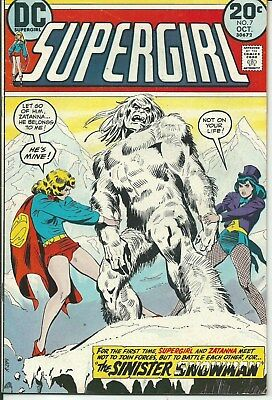 No Reserve Sale! Supergirl No. 7 (1973) In Very Good Condition