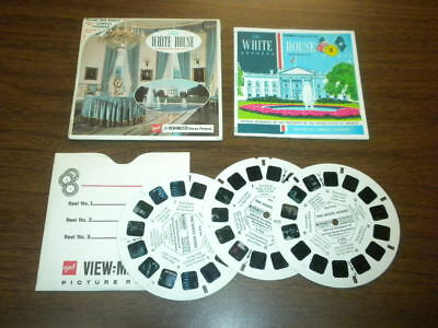 THE WHITE HOUSE WASHINGTON D.C. (A793) Viewmaster 3 reels PACKET SET