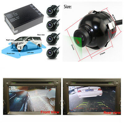 Car Parking Assistance Panoramic View All Round Rearview Camera System 360° View