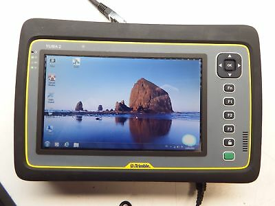 Trimble Yuma 2 Rugged Tablet Windows 7 Pro Touch Screen W/ Charge Kit #11