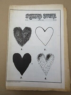 Rolling Stone # 36 Magazine June 28 1969 A Nice Day In the Park 1st Ed EX+