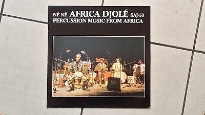 Africa Djolé – Né Né : Percussion Music From Africa - LP 1984
