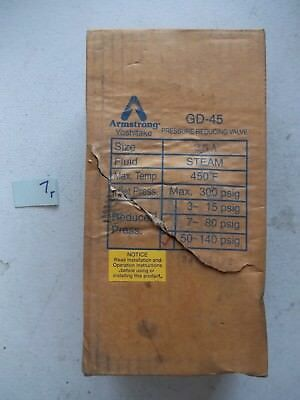 New In Box Armstrong Gd-45 Pressure Relief Valve D24507 (277)