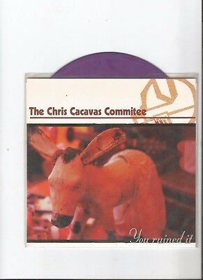 The Chris Cacavas Commitee – You Ruined It - 7inch 1997 col.vinyl , limit. 400
