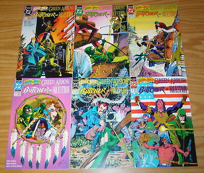Brave and the Bold v2 #1-6 VF/NM complete series GREEN ARROW question MIKE GRELL