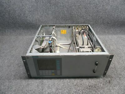 Siemens Ultramat 6E NH3 Gas Analyzer 7MB2121-1CA30-0AA1-Z-Y11