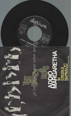 "7"" The Crazy Boys ‎– Addio Margaretha"