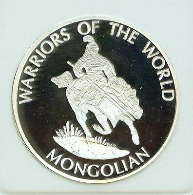 Warriors Of The World 2010 10 Francs -Mongolian- Perfect Proof Dcam