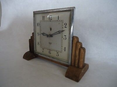 Vintage Art Deco Smiths Sectric Electric Clock. Spares Or Repair