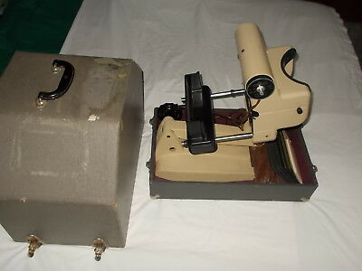 Vintage Keystone View Ophthalmic Telebinocular Visual Survey Tester 46b 19 Cards