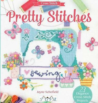 NEW Pretty Stitches by J Schofield BOOK (Paperback) Free P&H