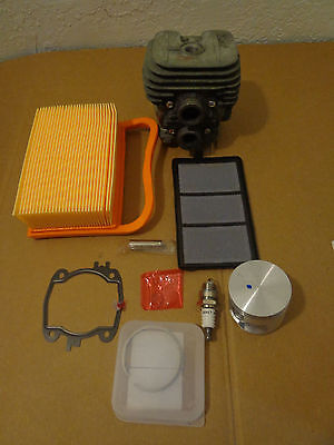 Cylinder & Piston Kit Fits Stihl Ts410 Ts420 Nikasil Plated