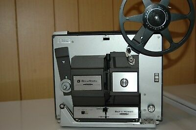 Vintage Bell Howell Autoload 8MM Super 8 Model 456 Movie Projector Manual Case
