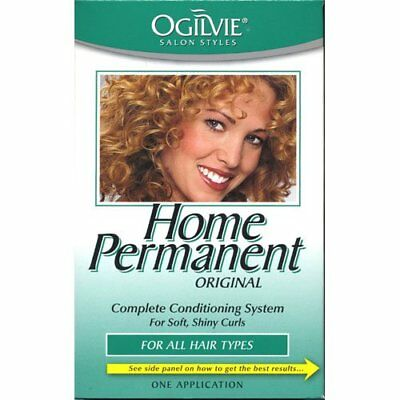 Ogilvie Home Permanent Complete Conditioning System SoftShiny Curls All Hair Typ