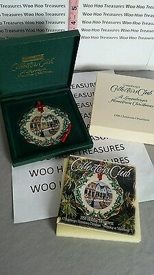 Longaberger Collectors Club Ornament 1998 Shopping in Dresden