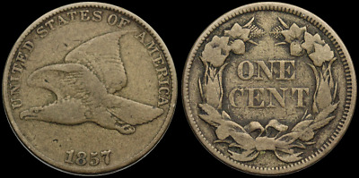 Flying Eagle Small Cent, 1857