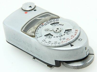 Leica Leica Meter MC Light Meter Untested, needle responds VINTAGE 368994