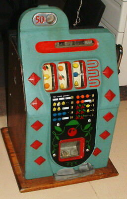 1930S or 40s MILLS ANTIQUE SLOT MACHINE BEAUTIFUL WORKING CONDITION