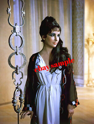 ELIZABETH TAYLOR COLOR PHOTO from the 1963 movie CLEOPATRA