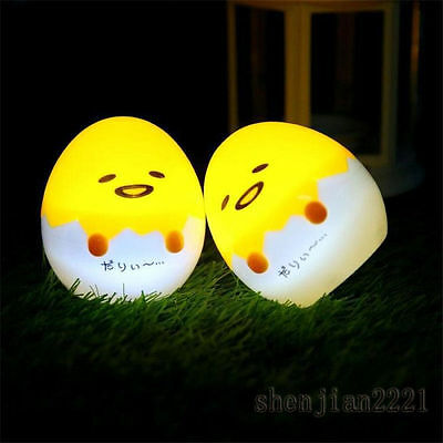 Mini LED Gudetama Cartoon Lazy Egg Lamp Kid Small Night Light Home Decorion New
