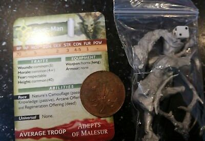 Vintage Sphere Wars metal Goat man adepts malesur faction