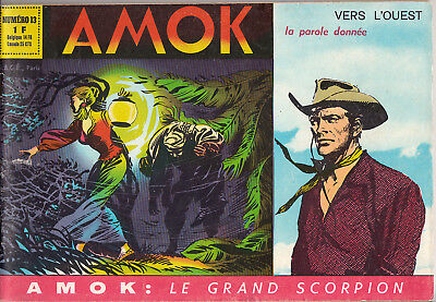 Amok N° 13 Nouvelle Serie 15 Aout 1966