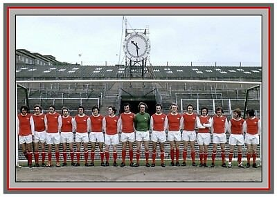 Collectors/Photograph/Print/7 x 5 Photo/Arsenal 1972 FA Cup Finalists