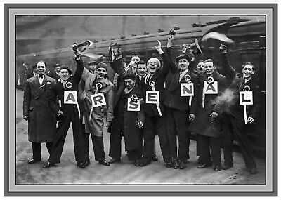 Collectors/Photograph/Print/Retro/7 x 5 Photo/Arsenal Fans/Supporters c1930's