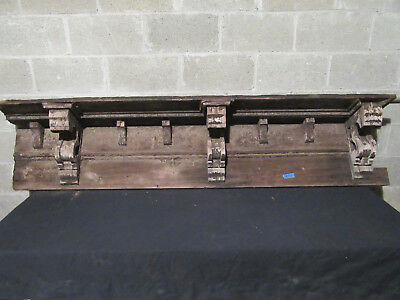 ~ 7 Antique Corbels Soffit 6 Feet ~ Wall Shelf Mantle ~ Architectural Salvage