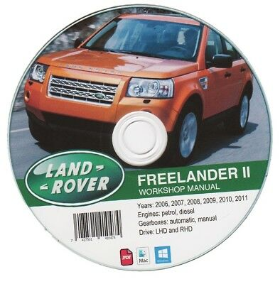 Land Rover Freelander II (2006-2011) manuale officina workshop manual