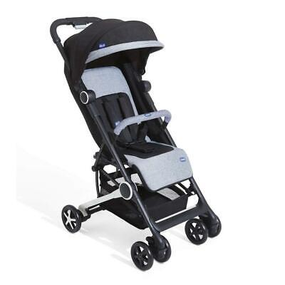 Chicco Miinimo 2 Stroller With Bumper Bar (Black Night) - RRP £160