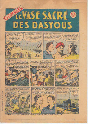 Collection  Odyssees N° 109 Le Vase Sacre Des Dasyous 1946