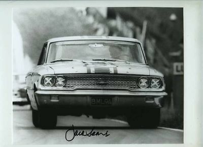 Jack Sears Ford Galaxie BML 9A Brands Hatch 1963 Signed Photograph 2