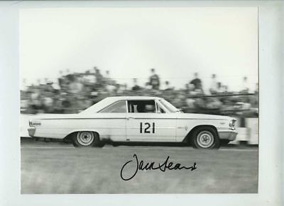 Jack Sears Ford Galaxie BML 9A Brands Hatch 1963 Signed Photograph 3