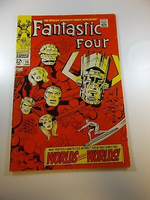 Fantastic Four #75 FN- condition Free shipping on orders over $100.00!