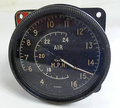 Indicator AIR, Tens of MPH, old english Instrument