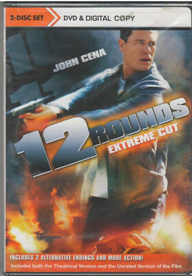 12 ROUNDS (DVD, 2009, Rated/Unrated,Includes Digital Copy) NEW