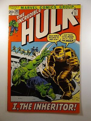 """The Incredible Hulk #149 """"I, The Inheritor!"""" Beautiful VF- Condition!!"""