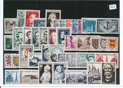 Timbres De France Annee Complete 1951 Neuf Luxe **