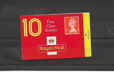 GB 1990 First Class Barcode Booklet - HD 3 - Cyl No