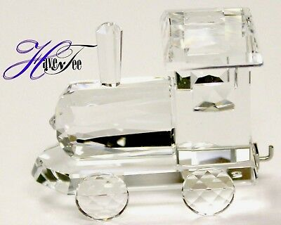 Locomotive Clear Crystal Figurine 2018 Swarovski Crystal  5364562