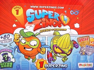Superzings Rivals of Kaboom - Series 1 - CHOOSE figures 001-41 - P&P 90p MAX!